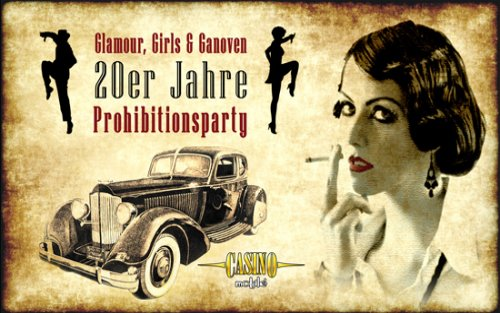 Al Capones Casino Club: Die 20er Jahre Party