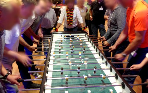 Kickertisch Turnier als Teambuilding-Event